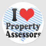 I Love Property Assessors Sticker