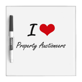 I love Property Auctioneers Dry Erase Whiteboard