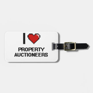 I love Property Auctioneers Tag For Luggage