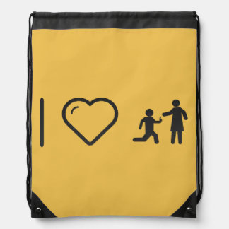 I Love Proposals Drawstring Backpack