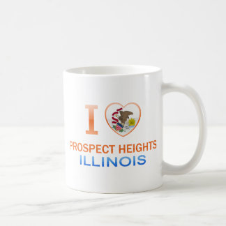 I Love Prospect Heights, IL Coffee Mugs