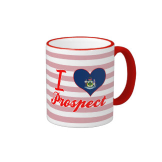 I Love Prospect, Maine Coffee Mugs