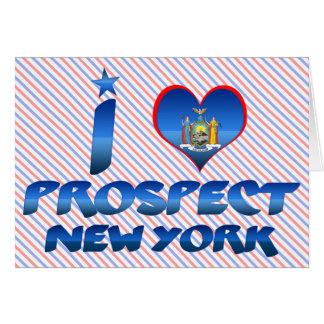 I love Prospect, New York Greeting Card