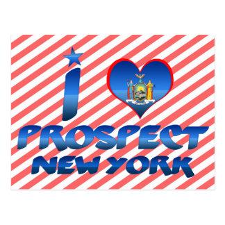 I love Prospect, New York Postcard