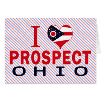 I love Prospect, Ohio Greeting Card