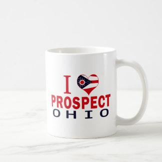 I love Prospect, Ohio Mugs