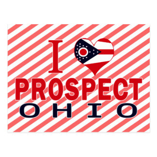 I love Prospect, Ohio Postcard