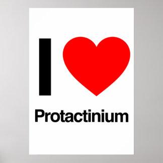 i love protactinium poster