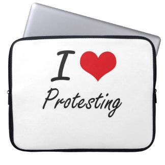 I love Protesting Laptop Sleeve
