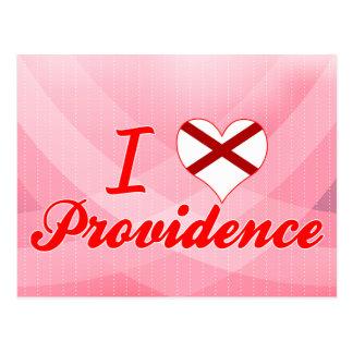 I Love Providence, Alabama Postcard