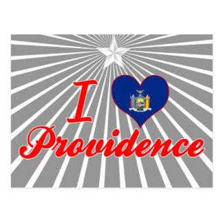 I Love Providence, New York Postcard
