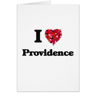 I love Providence Rhode Island Greeting Card