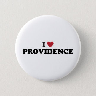 I Love Providence Rhode Island Pinback Button