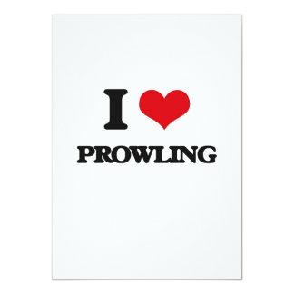 "I Love Prowling 5"" X 7"" Invitation Card"