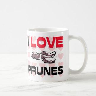 I Love Prunes Coffee Mug
