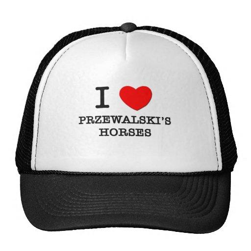 I Love Przewalski'S Horses (Horses) Trucker Hat
