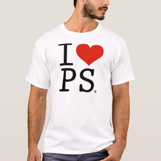 I love PS T-Shirt