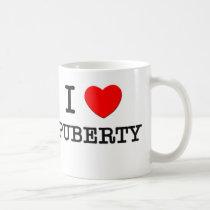 I Love Puberty Coffee Mug