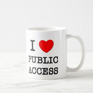 I Love Public Access Mugs