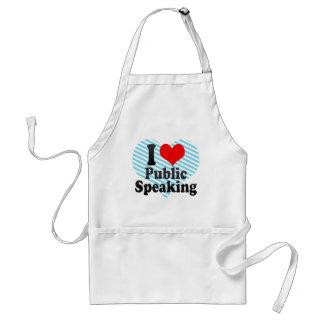 I love Public Speaking Apron