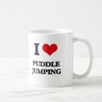 I Love Puddle Jumping Coffee Mug