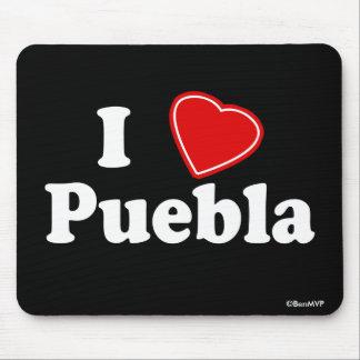 I Love Puebla Mouse Pad