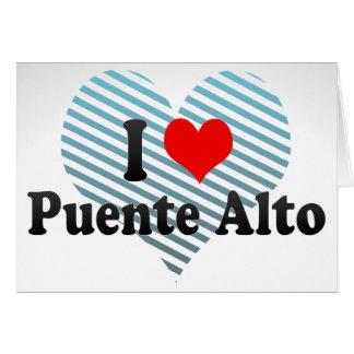 I Love Puente Alto, Chile Stationery Note Card