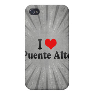 I Love Puente Alto, Chile Cases For iPhone 4