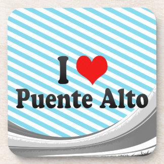 I Love Puente Alto, Chile Drink Coaster