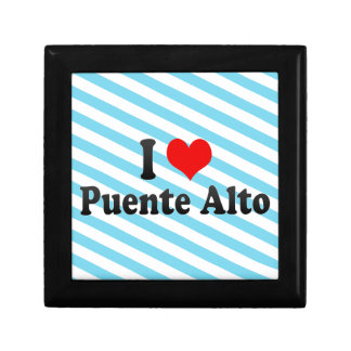 I Love Puente Alto, Chile Keepsake Boxes