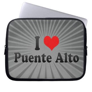 I Love Puente Alto, Chile Laptop Sleeve