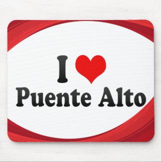 I Love Puente Alto, Chile Mouse Pad
