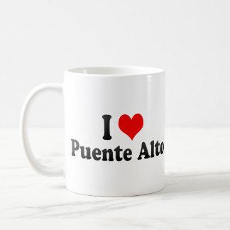 I Love Puente Alto, Chile Classic White Coffee Mug