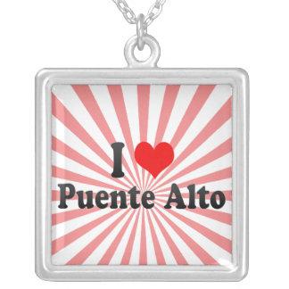 I Love Puente Alto, Chile Personalized Necklace