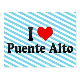 I Love Puente Alto, Chile Postcard