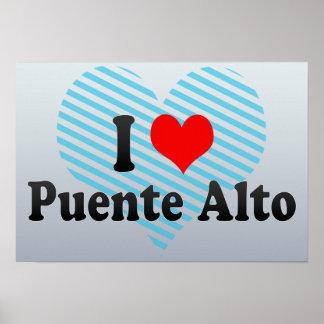 I Love Puente Alto, Chile Print