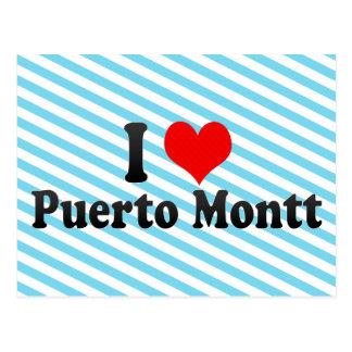 I Love Puerto Montt, Chile Postcard