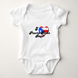 i love puerto rican boys baby bodysuit