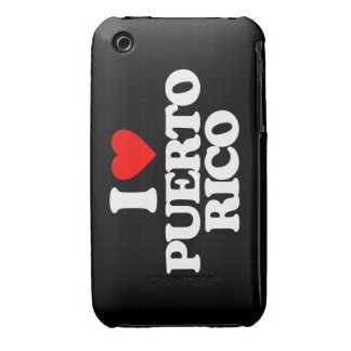 I LOVE PUERTO RICO iPhone 3 COVER
