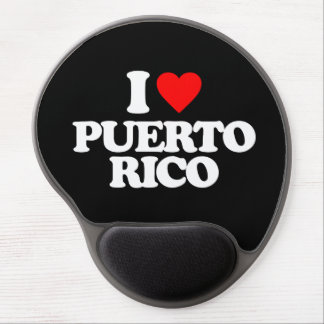 I LOVE PUERTO RICO GEL MOUSE PAD
