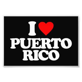 I LOVE PUERTO RICO PHOTO