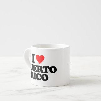 I LOVE PUERTO RICO ESPRESSO CUP