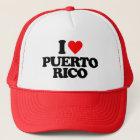I LOVE PUERTO RICO TRUCKER HAT