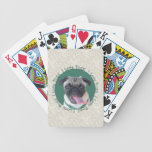 I Love Pugs! Bicycle Poker Cards