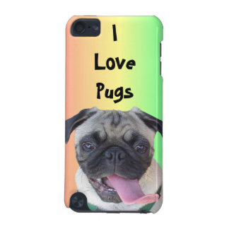 I Love Pugs! Rainbow iPod Speck Case iPod Touch 5G Cover
