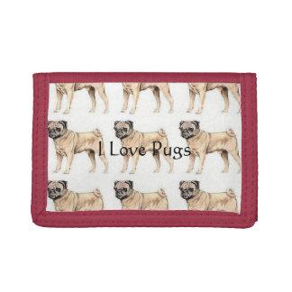 I Love Pugs Wallet