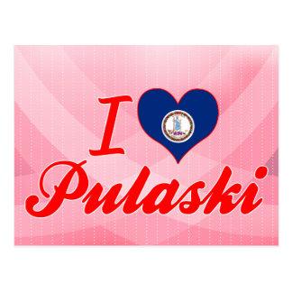 I Love Pulaski, Virginia Postcard