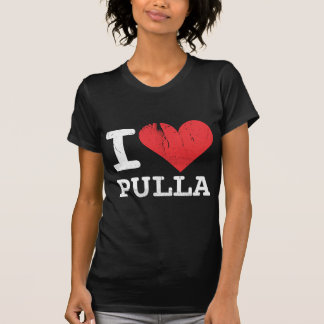 I Love Pulla Dark T-Shirt