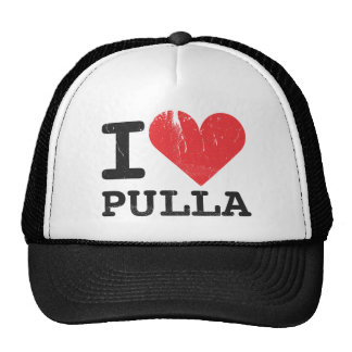 I Love Pulla Trucker Hat