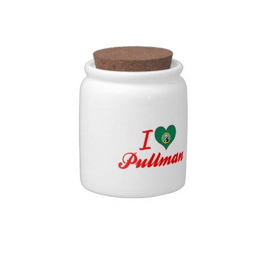 I Love Pullman, Washington Candy Jar